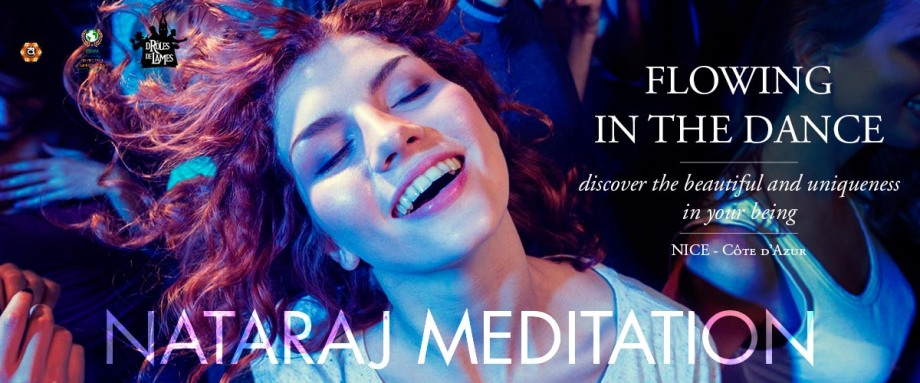 nataraj meditation nice cote d'azur dancing girl with hair in the wind