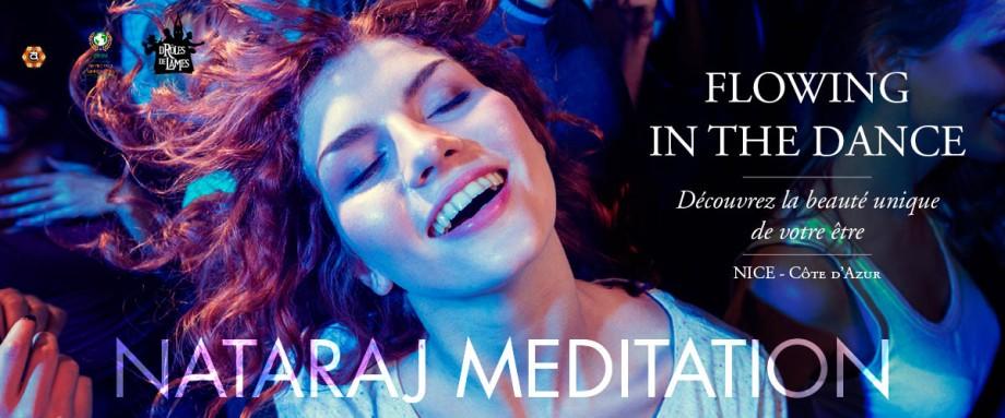 nataraj meditation nice cote d'azur une belle fille en extase en dansant