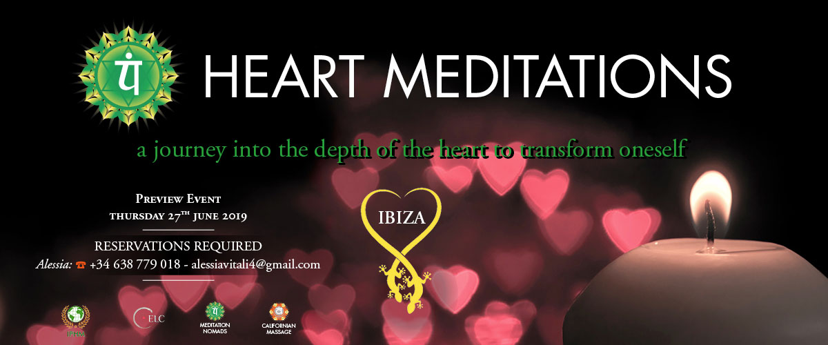 meditation nomads, heart meditations event in Ibiza